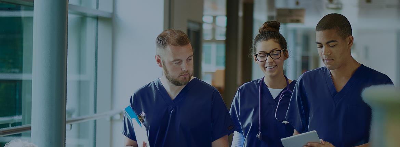 Jumbotron nurses