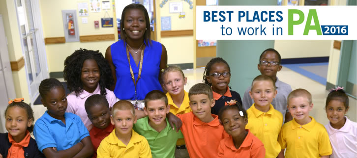 Best places to work PA 2015